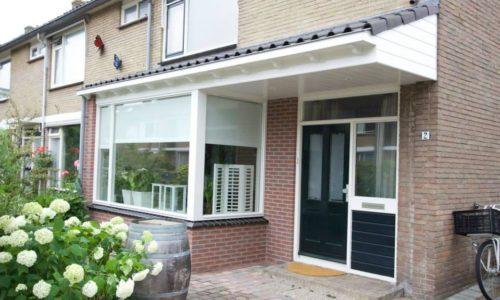 Aanbouw en erker Willembartiusstraat te Alkmaar